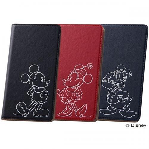 尼德斯Nydus~* 日本 Sony Xperia Z5P 迪士尼 米奇 米妮 唐老鴨 手機殼 翻頁皮套 Premium