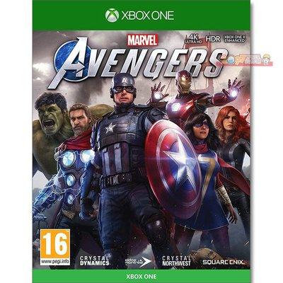 全新現貨 XBOX ONE 漫威復仇者聯盟 中文亞版 Marvel Avengers 浩克 雷神索爾 鋼鐵人 黑寡婦