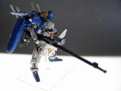 gundam collection ex-s blue 1/400 上色