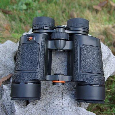 【優上精品】自然8X42保羅式雙筒望遠鏡 中空高清防水觀景旅游(Z-P3152)