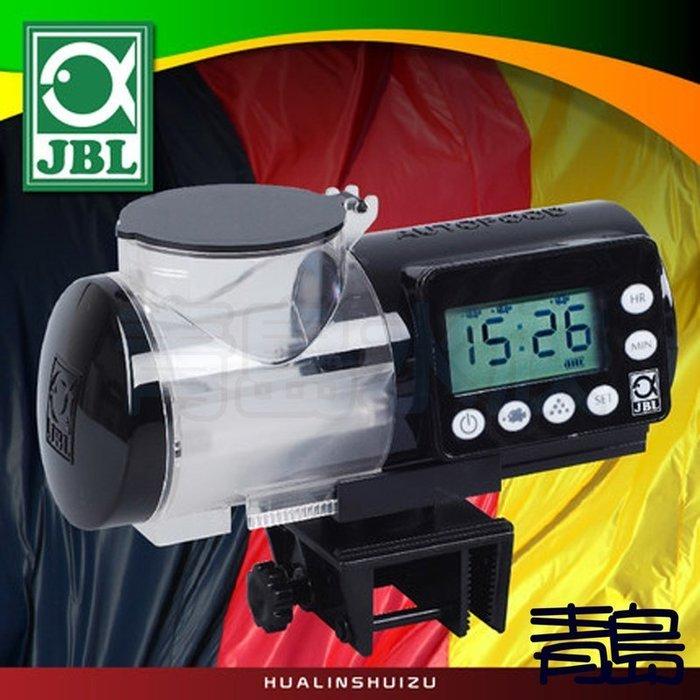 Y。。。青島水族。。。60615德國JBL-自動餵食器(8段調整/防潮/大容量375ml/360度旋轉)==黑色