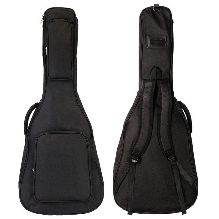 RockRose 40.41吋 民謠吉他 雙肩背 護頸 厚袋 - 【黃石樂器】
