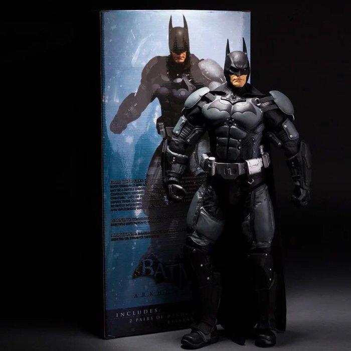 蝙蝠俠模型NECA 1/4 18寸蝙蝠俠 Batman 阿卡姆瘋人院 阿甘之城手辦模型現貨蝙蝠俠玩具