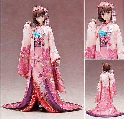 【阿忿的模型動漫周邊】Aniplex 路人女主的養成方法 加藤惠 聖人惠 和服Ver. 手辦模型港版