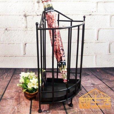 馨生活歐式家用多功能雨傘架酒店 門廳創意鐵藝雨傘桶架收納架