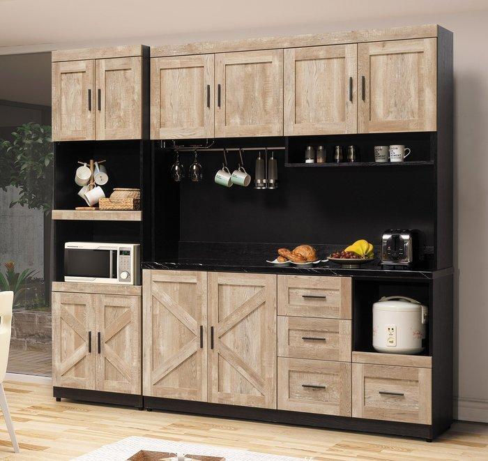 里斯本 石面7.3尺餐櫃  👍台灣製造👍另有系列家具😊暖暖屋傢俱傢飾😊