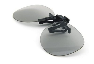 ~YM3C~不閃式3D 眼鏡 圓偏光3D眼鏡 夾片式 近視
