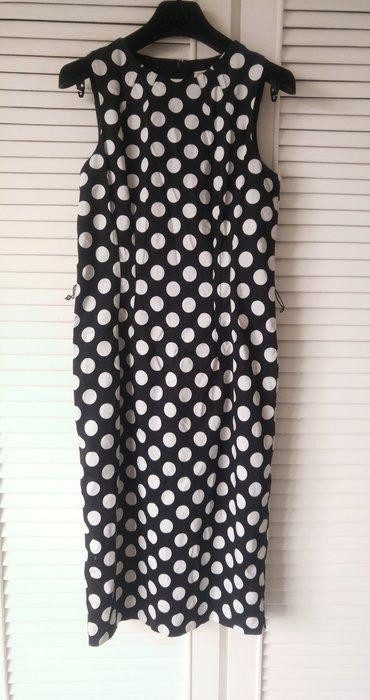 【MICHAEL KORS】黑白點印花復古洋裝