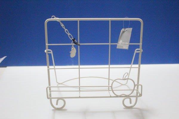 天使熊小鋪~日本帶回純白鐵架 可當書架 IPAD架 ZAKKA置物架 桌用 可3M吊鉤掛架~