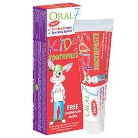 ORAL7口立淨7兒童酵素牙膏 65g(英國原裝進口)
