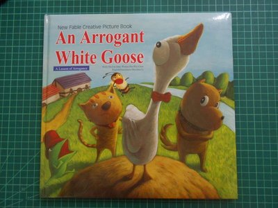 《 An Arrogant Whit Goose》 傲慢的白鵝 附光碟 89成新【 CS超聖文化2讚】