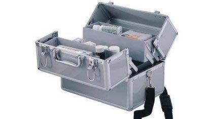 【易發生活館】鋁合金醫藥箱 急救箱 出診箱 醫療箱家庭用 有小號中號大號     小號*1