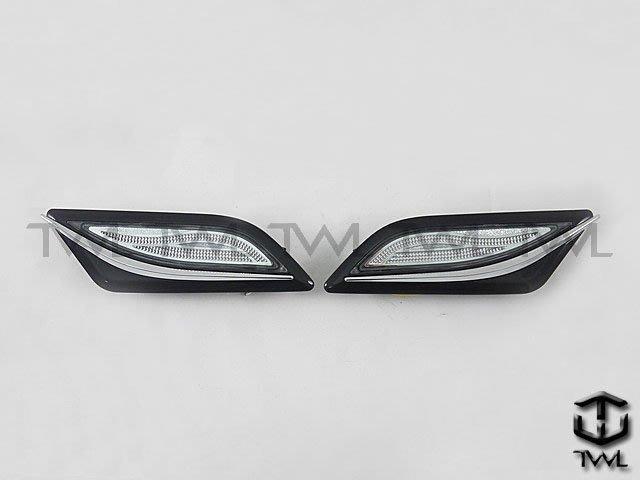 《※台灣之光※》全新BENZ 11 12 13年W204後期C250 C350 C63美規專用LED光條黑底晶鑽側燈組