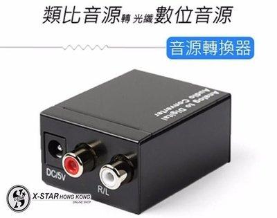 1631743  數字光纖轉模擬音頻LR轉換器 3.5轉換 同軸數字光纖 支援PS4! 支援Apple TV