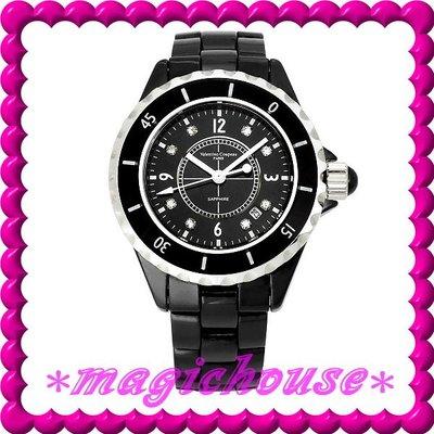 *夢幻精品屋*【可刷卡↘1450】范倫鐵諾公司貨《高精密全陶瓷J12款式女錶》黑現貨
