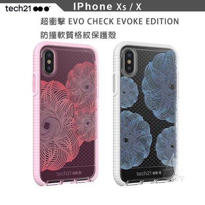 【A Shop】Tech21 Evo Check Evoke Edition防撞軟質格紋保護殼 iPhone Xs