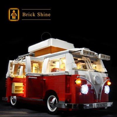 現貨 樂高  LEGO 10220  福斯露營車 T1 CREATOR 系列  全新未拆  BS燈組 原廠貨