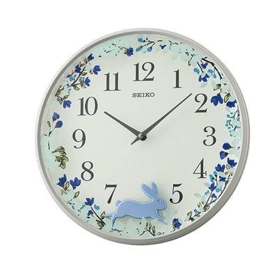 【時間光廊】SEIKO 日本 精工掛鐘 兔子搖擺 全新原廠公司貨 QXC238N