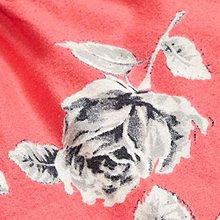 Maple麋鹿小舖 American Eagle * AE 橘紅色花花棉質睡褲 * ( 現貨S號 )