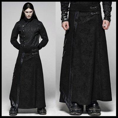 *MINI PUNK LOLO*歐洲中古世紀-加勒比海盜.鬼盜船皇爵華麗暗紋印花哥德長裙 GOTHIC(WQ-437)