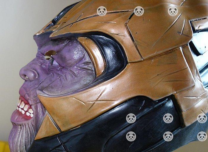 薩諾斯 終局之戰 滅霸 滅霸面具 薩諾斯面具 復仇者聯盟3 無限手套 (乳膠/頭套/萬聖節/變裝 cosplay/COS