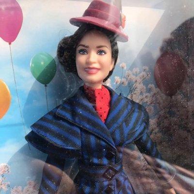 HALO BARBIE歡樂滿人間周邊MARY POPPINS ARRIVES芭比玩偶人偶玩具