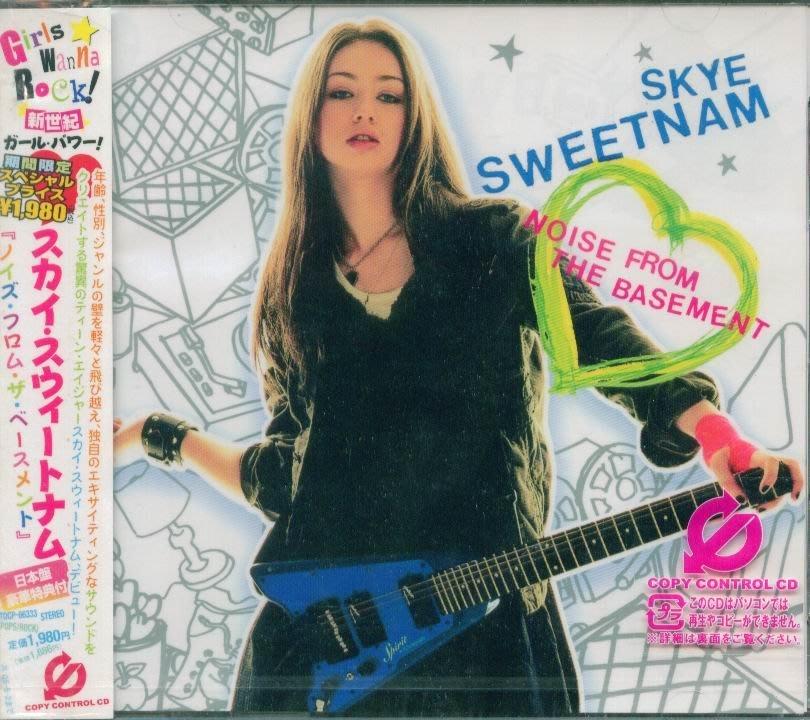 K - Skye Sweetnam Noise From The Basement - 日版 +1BONUS - NEW