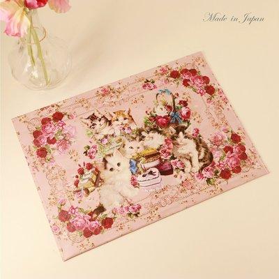 【貓下僕同盟】日本貓雜貨 日製古典玫瑰...