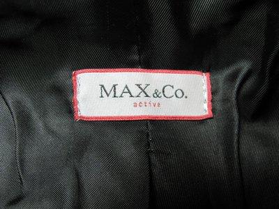 東京二手名品~723~~22K也穿得起的名牌 日版 MAX&CO皮衣 賣場另有很多皮衣和名牌手錶