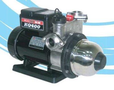 『朕益批發』木川泵浦 KQ400S 1/2HP 不鏽鋼電子式穩壓機 靜音加壓機 抽水機 低噪音