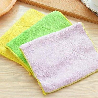 洗碗巾 廚房超細纖維洗碗布抹布柔軟超吸水擦桌布清潔不掉毛擦碗布