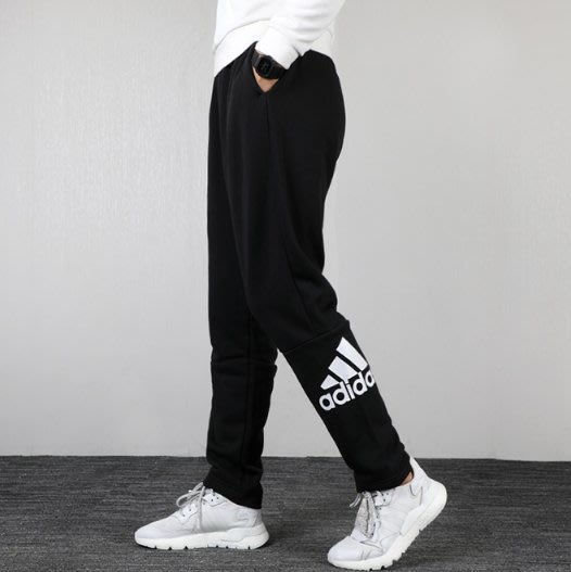Adidas愛迪達褲子男2019秋季新款訓練休閑寬松運動褲長褲DT9952