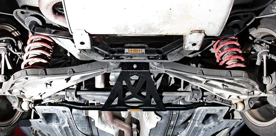 SUMMIT VOLVO S60 V60 共用 後下四點式結構桿 CS車宮車業