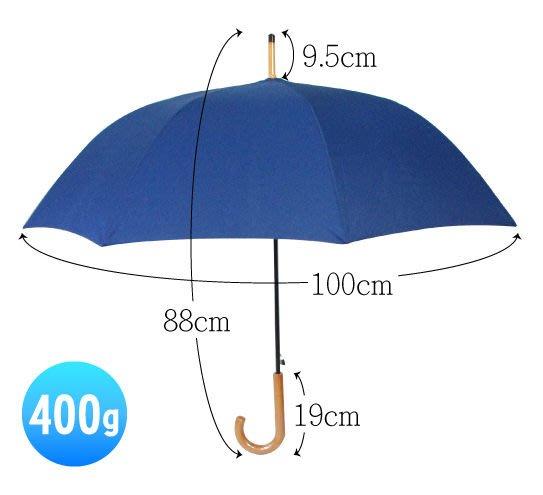 仿木紋紳仕自動傘