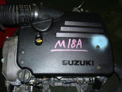 品億 引擎 變速箱 專賣 鈴木 SUZUKI SOLIO M18A 日本外匯 引擎
