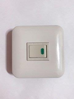 【高雄日電行】日本原裝 Panasonic 國際牌WNF5151 全彩色埋入式螢光開關 迷你插座板
