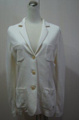 Loro Piana  白色雙口袋西裝外套   原價  87500     特價  14000