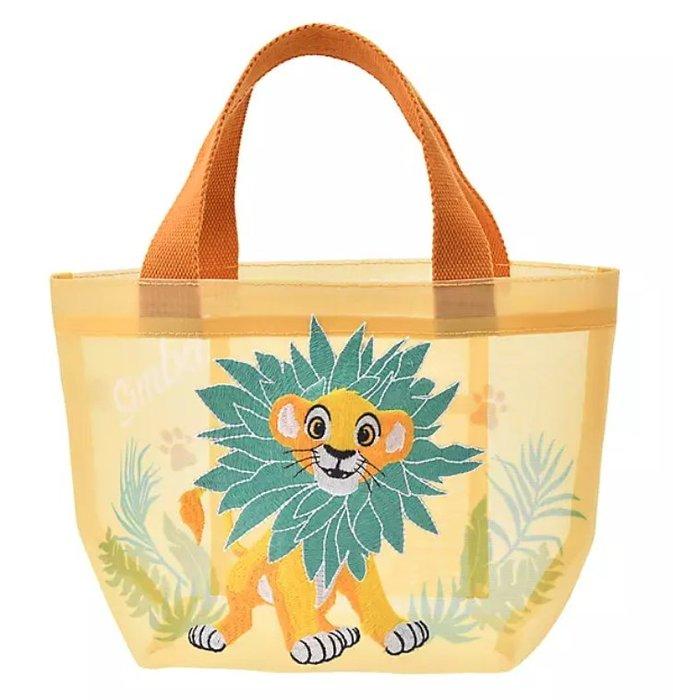 《FOS》日本 迪士尼 獅子王 史迪奇 辛巴 手提袋 手提包 可愛 小包 購物袋 便當袋 禮物 2020新款