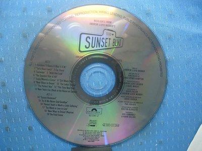 [無殼光碟]DJ  Glenn Close   Sunset Boulevard   紅樓金粉電影原聲帶