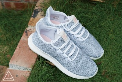 ISNEAKERS Adidas Tubular Shadow 淺灰 白 粉標女鞋 小350 BB8872