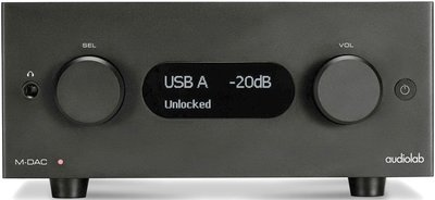 英國 Audiolab M-DAC+(Plus)數位流~USB~DAC 、數位前級、耳機擴大機功能!!!(來電驚喜價)