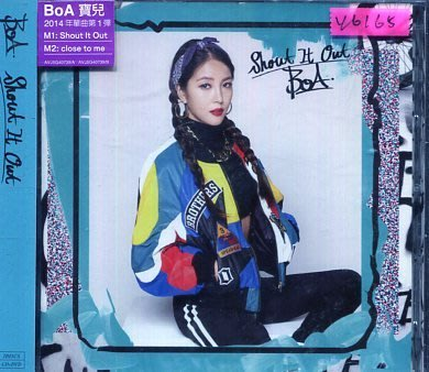 *還有唱片行* BOA / SHOUT IT OUT 全新 Y6165 (149起拍)