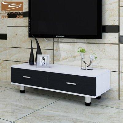 YEAHSHOP 簡易電視櫃茶幾組合現代簡約小戶型臥室電視機櫃迷你客廳地櫃529016Y185