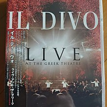 IL DIVO Live The Greek Theater 日本版DVD全新未拆 (Frank Sinatra)My WayAll By Myself