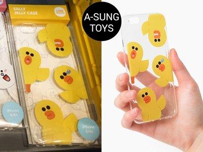 【手機殼】 預購 LINE FRIENDS 莎莉 透明 iPhone6/6s 保護殼 軟殼 手機套 橡膠殼 硬殼兔兔
