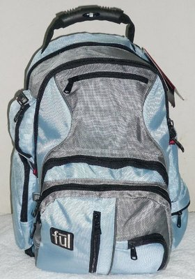 FILA 多功能 筆記型電腦包,多分層2大10小格,好質量,安全反光條,電腦背包/書包,防震 防災 避難 逃生用品