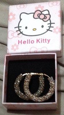 全新附禮盒大耳環生日禮物 送禮 Kitty貓 Hello Kitty 禮盒 情人節 禮物送禮首選