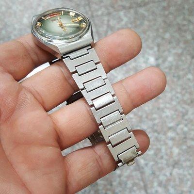 漸層綠<行走順暢><開天窗>日本 TELUX 漂亮老錶 老收藏家釋出 可遇不可求!☆隨意賣 另有 機械錶 老錶 滿天星 潛水錶 三眼錶 陶瓷錶 中性錶 A05