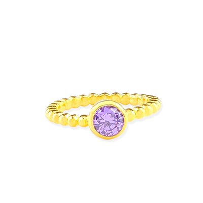 【JHT 金宏總珠寶/GIA鑽石】0.96錢 紫鑽黃金戒指 (請詳閱商品描述)