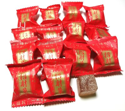 招財果軟糖 台灣製造 軟糖-1公斤裝 聖誕 拜拜 彩券-團購糖果批發